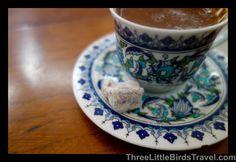 Turkish coffee with a Turkish delight! Istanbul -Turkey