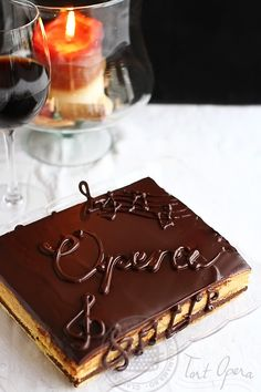 opera cake, tort opera-1 Sweets Recipes, Cooking Recipes, Romanian Desserts, Opera Cake, Good Food, Yummy Food, Pastry Art, Le Chef, Something Sweet