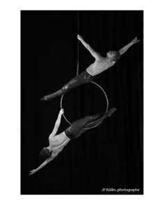 Duo Cerceau: Dom Taylor & Brandon Miyazaki https://www.facebook.com/duo.cerceau Aerial Hoop, Circus Aerials