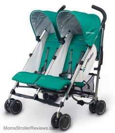 The G-Link 2016 is the first double umbrella stroller from Uppababy.