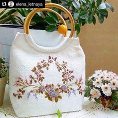 @elena_letnaya #embroiderybag #needlework #handembroidery #broderie #embroidery #ricamo #bordado