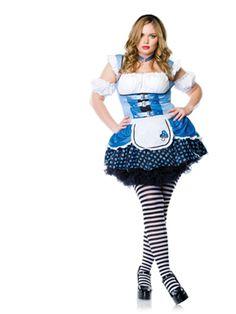 Alice In Wonderland Costume - Sexy Magic Mushroom Plus Size