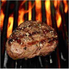 Filet Mignon on the grill