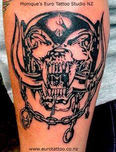Motorhead tattoo .. one to show my boy : )