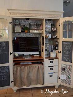 Hometalk: office armoire