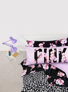 Super cute apartment style bedding set! LOVE the colours!