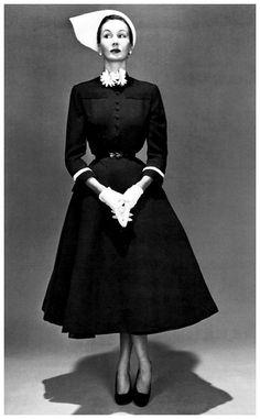 Barbara Goalen, photo by John French,1950′s