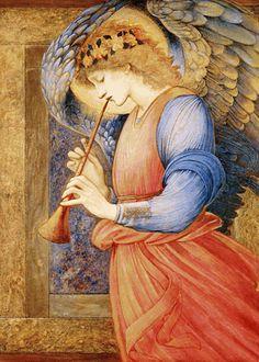 John Duncan Saint Bride Angels Orenco Originals Counted Cross Stitch Pattern