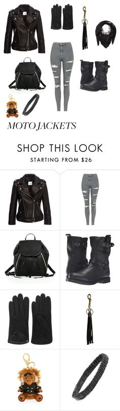 """""""Unbenannt #582"""" by nc4you ❤ liked on Polyvore featuring Anine Bing, Topshop, Rebecca Minkoff, rag & bone, Future Glory Co., MCM, Cara and Diesel"""