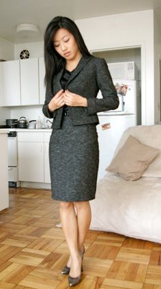 65ae76cfc0 A business, professional gray suit that has a pattern that is not  overwhelming. Great