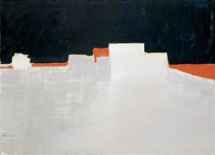 nicolas de stael agrigente abstract art through making images, composing landscape. the feeling of single space which landscapes overwhelm is and free our vision of detail Jean Arp, Abstract Landscape Painting, Landscape Paintings, Abstract Art, Rembrandt, Michael Borremans, Tachisme, Elements Of Art, French Artists