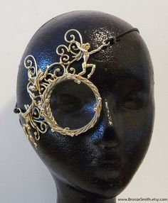 Bronze Fairy Monocle by BronzeSmith on Etsy