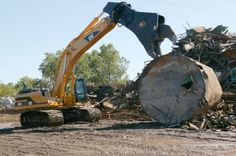 See one of the many jobs that a #Cat machine excels at: Demolition!