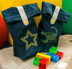 Tutorial: Jeans-Upcycling Allzwecktasche