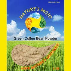 Green Coffee Bean Powder 100G
