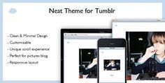 Neat Tumblr Theme -