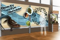 Rendering of Nature Exhibits at Killens Pond Nature Center in Delaware