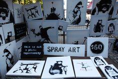 Banksy-Meisterwerke zum Schleuderpreis