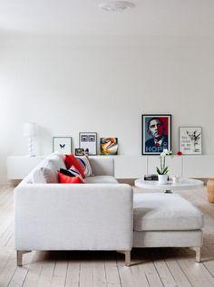 Hanging Art: Keep It Low