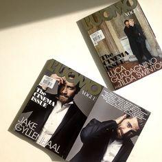 L'Uomo Vogue, September 2015 - Jake Gyllenhaal, Luca Guadagnino & Tilda Swinton - See more: www.condenastinternational.com/shop www.instagram.com/condenastworldwidenews email: cnwwn@condenast.co.uk for enquiries