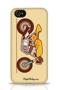 Classic Motorcycle The Cafe Racer Apple iPhone 4 Phone Case