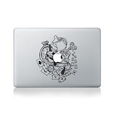 Alice in Wonderland Cups Macbook Sticker Vinyl Revolution…