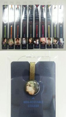 Super Junior Collectable Sticker Bookmark (Leeteuk)