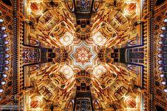 Arab Room Ceiling Cardiff Castle South Wales by JoeDanielPrice. @go4fotos