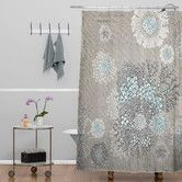 Found+it+at+AllModern+-+Iveta+Abolina+French+Blue+Extra+Long+Shower+Curtain