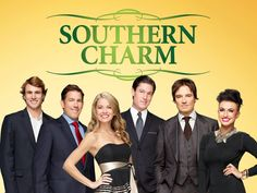 My new TV addiction -- Southern Charm (Mon nights, Bravo channel)