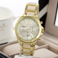 38.72$  Watch now - http://ali055.shopchina.info/1/go.php?t=32792261711 - 2017 New Fashion Watch Women Geneva Brand Watches Men Quartz Watch Gold Steel Women Watches Relogio Masculino Relogio Feminino  #bestbuy