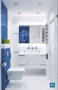 Here's one thing that makes blue bathroom ideas distinctive as compared to the blue bedroom and blue living room ones. In blue bathroom ideas, you can experiment with various blue ceramics for both . Brown Bathroom, Modern Bathroom, Beautiful Bathrooms, Small Bathrooms, Dream Bathrooms, Bathroom Colors, Bathroom Ideas, Shower Ideas, Bathroom Interior Design
