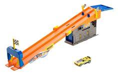Set Hot Wheels - Garaj pentru curse pe acoperis - X9295-BMG70