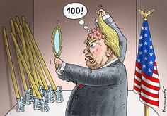 TRUMP 100 DAYS IN THE OFFICE