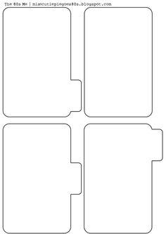 Printable Mini Folders: