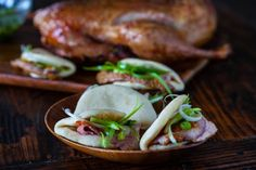 Smoked Duck and Chinese Steamed Buns Recipe. Dunno bout the duck but I wanna make the buns