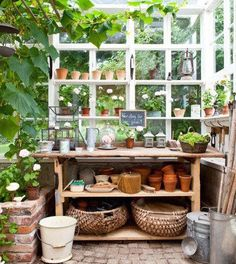 Potting Shed Green House