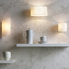 Buy Astro Luga Wall Light from our Wall Lighting range at John Lewis & Partners. Free Delivery on orders over Hallway Wall Lights, Plug In Wall Lights, Interior Wall Lights, Hallway Walls, Glass Wall Lights, Cottage Dining Rooms, Dining Room Walls, Living Room Lighting