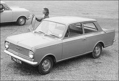 Vauxhall Viva HB - the first car we ever owned as a family, living in Aldershot. Secondhand, and quite a tight squeeze. There were six of us!