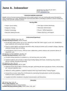 free sample certified nursing assistant resume gonna need this