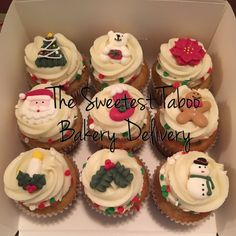 #ChristmasCupcakes #HolidayCupcakes