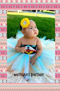 Infant+Navajo+Aztec+Tribal+no+sew+tutu+dress+by+WhitegrassBoutique,+$30.00