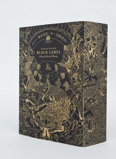 johnnie walker packaging design by Mr Chris Martin #Whisky #box