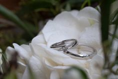 Domča + Tomáš - Couple Memory Silver Rings, Wedding Rings, Engagement Rings, Jewelry, Enagement Rings, Jewlery, Jewerly, Schmuck, Jewels