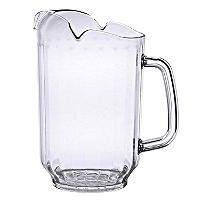 64 oz. Water Pitcher - Clear Polycarbonate - Sam's Club