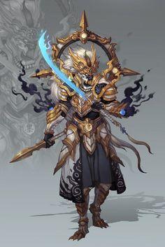 Warrior of a new class.: