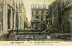 Amicarte 51 Reims: 1915... et mon sale bourrin !