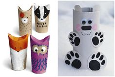 Diy And Crafts, Crafts For Kids, Toilet Paper Roll, Crafty, Tableware, Christmas, Fun, Toilet Paper, Animaux
