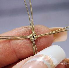 cool DIY Bijoux - Wire Jewelry Bracelet Tutorial Story Teller by | newjewelrytrends5......
