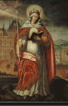Saint of the Day – 3 January –  St Genevieve – (419-512) – Virgin/Lay Apostle of Charity and Prayer/Servant of God- Patron of Paris  On his way to combat heresy in Britain, St. Germanus of Auxerre made an overnight stop at Nanterre, France. In the crowd that gathered to hear him speak, Germanus .